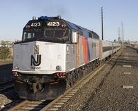 New Jersey Transit 4123